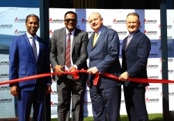 AGCO CEO opens Africa Head Office in Johannesburg. From left to right is Nuradin Osman (AGCO Vice Pr