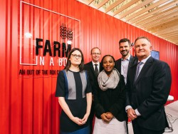 AGCO Team Front Row L to R - Louisa Parker Smith, Shlobi Maluleke, Gary Collar; Back Row - Jason Bur